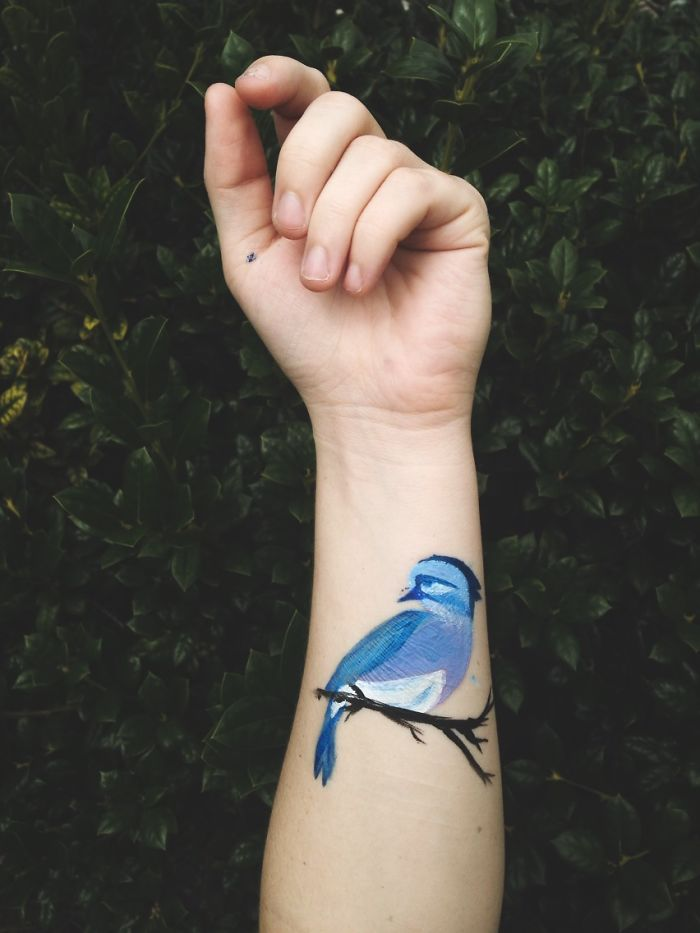 I've Taken My Art And Put It On My Body…temporarily That Is