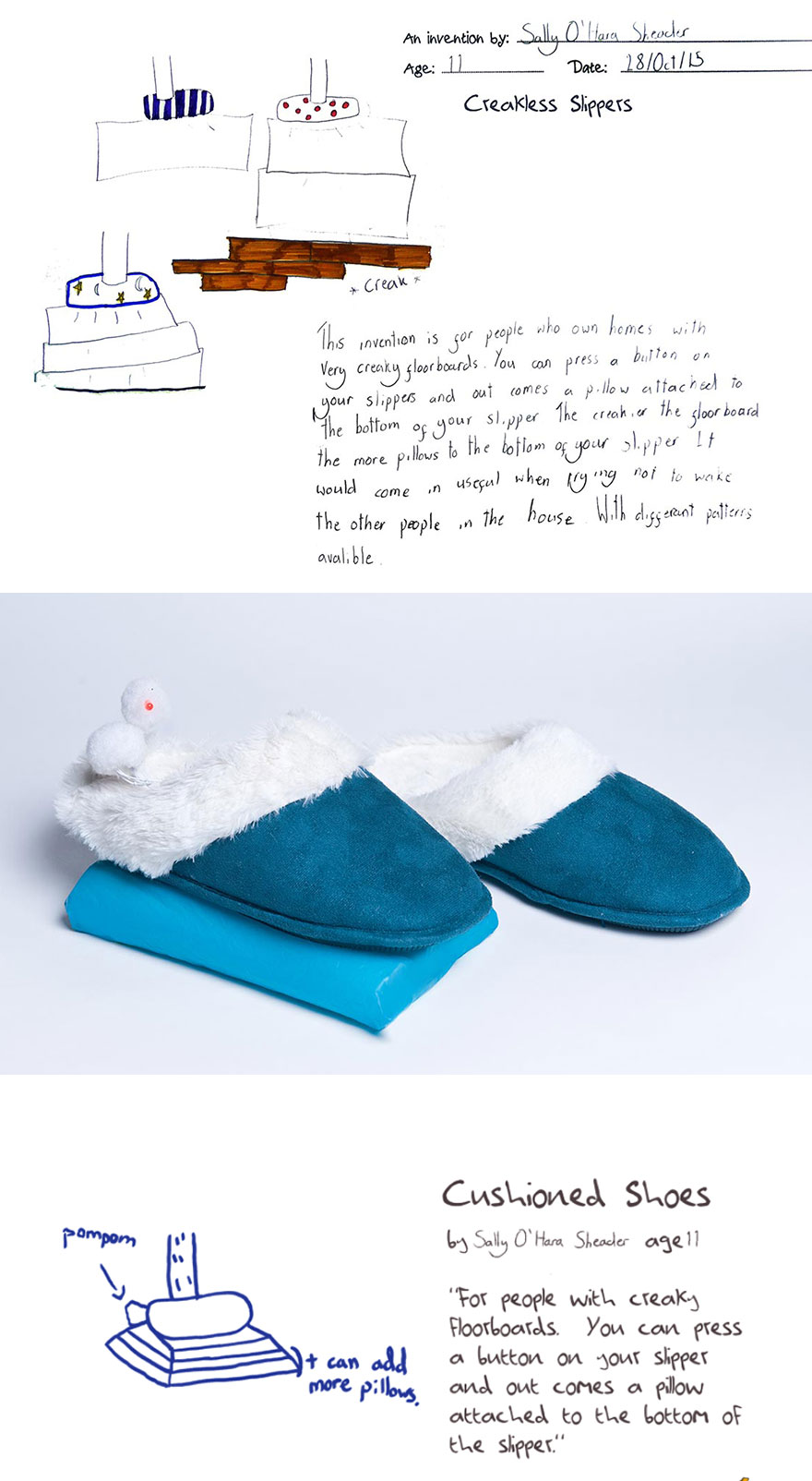 Creakless Slippers