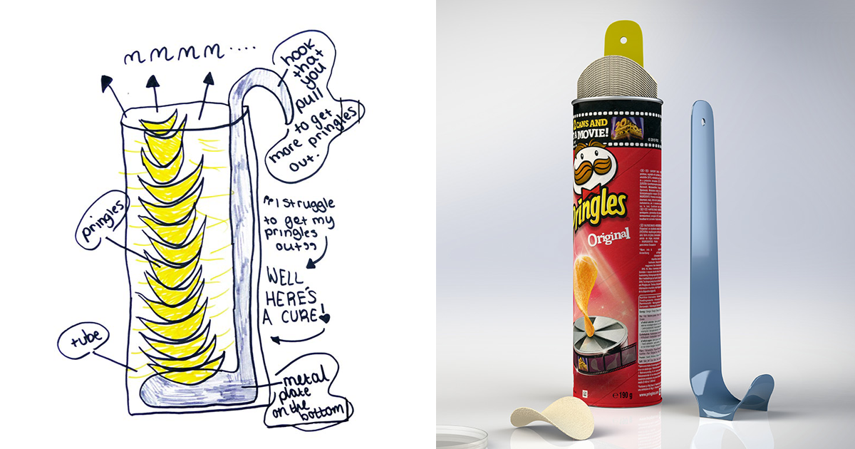 Crazy Kids Inventions Turned Into Real Products Pics Bored
