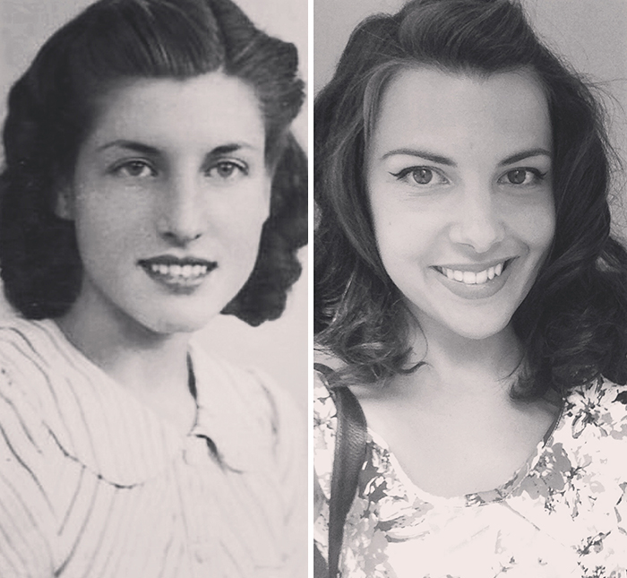 My Dad's Mother And Me, 70 Years Apart