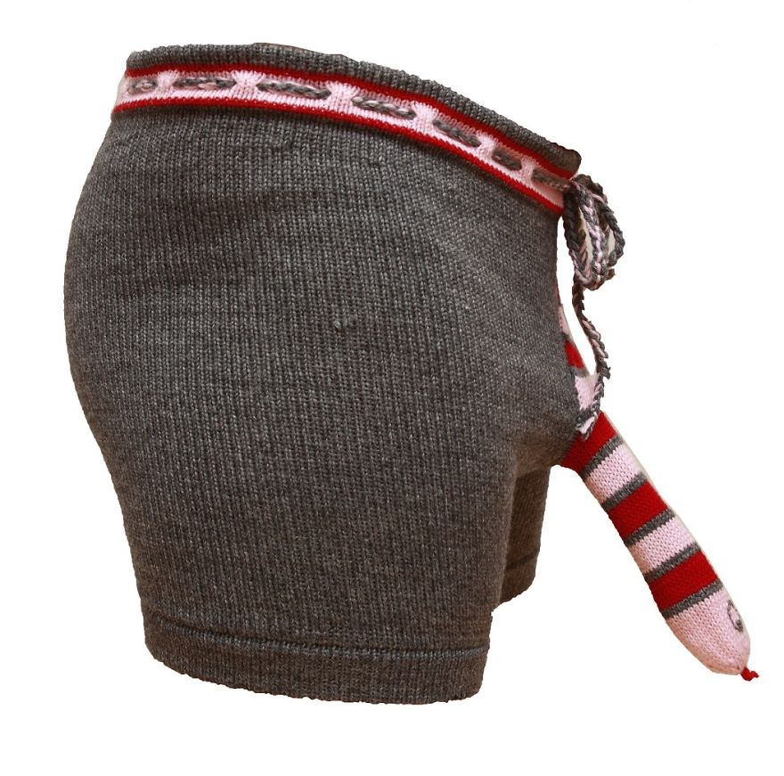 Elephant Boxers Knitting Pattern : My Business Idea Grew From Just 10 Unsold Socks Into Worldwide Knitted Men Un...