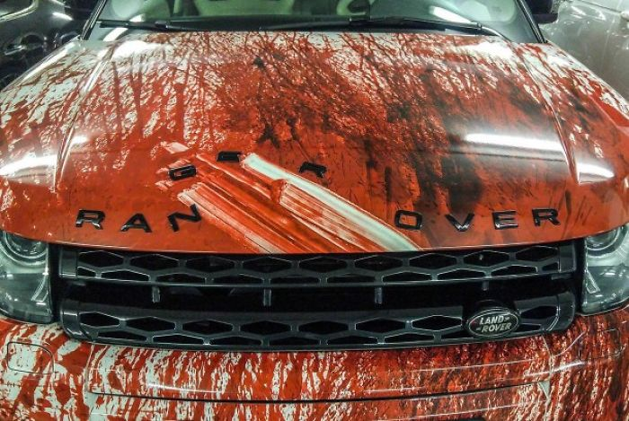 Bloody Car Commands Respect
