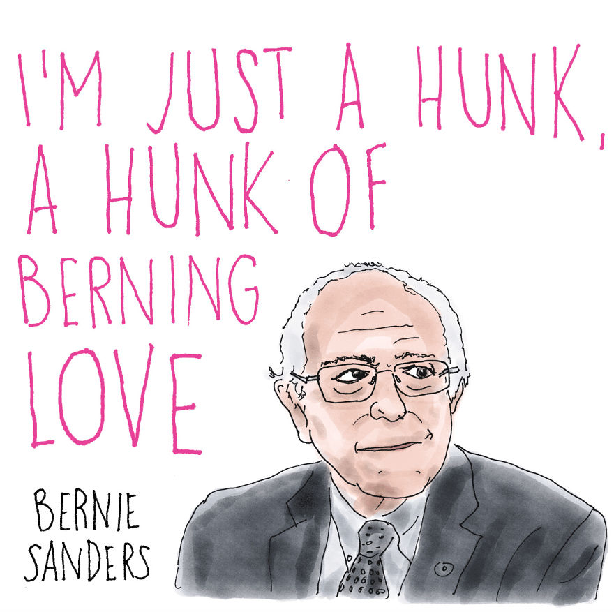 Let The Presidential Candidates Express Your Feelings For You This Valentine's Day