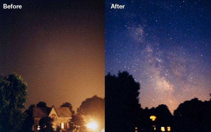 Light Pollution…