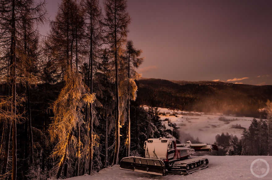 Like On Another Planet: I Photographed Poland's Pieniny National Park In All Its Winter Glory