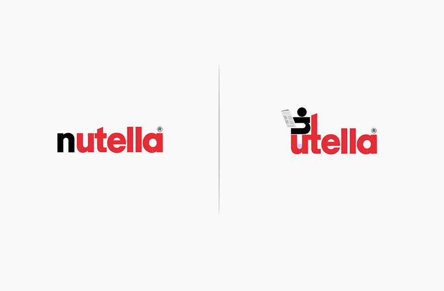 10 famous logos affected by their products bored panda nutella sciox Image collections