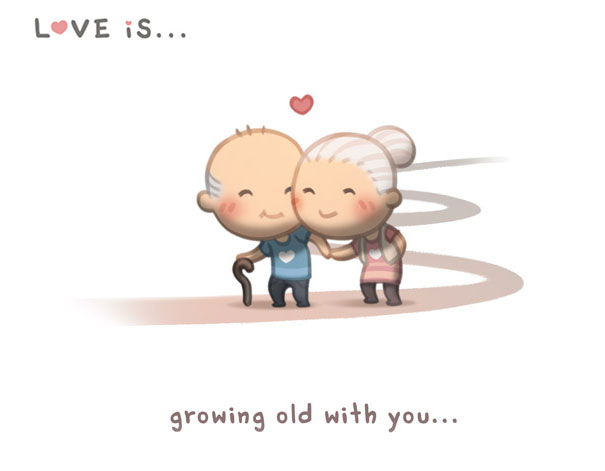 Love Is: Husband Spends 89 Years Illustrating His Love For His Wife