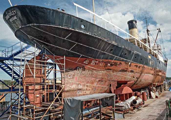 Maritime Restoration Projects Currently Undertaken By Volunteers Of Sydney Heritage Fleet