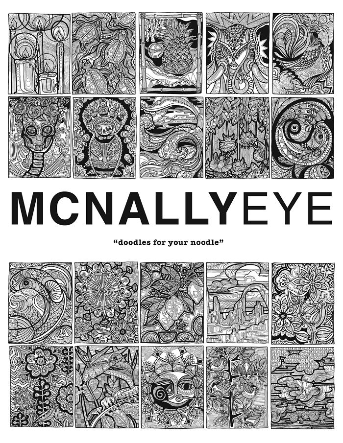 """mcnallyeye Doodles For Your Noodle"""