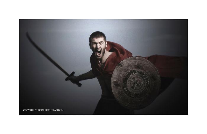 Georgian Warrior