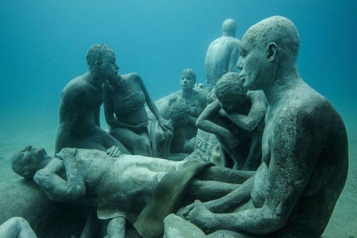 Museo Atlantico – A Fascinating Underwater Museum Opened In Europe