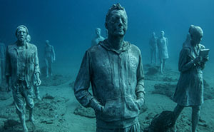 Breathtaking Underwater Museum Turns Ocean Floor Into Art Gallery And Doubles As Artificial Reef