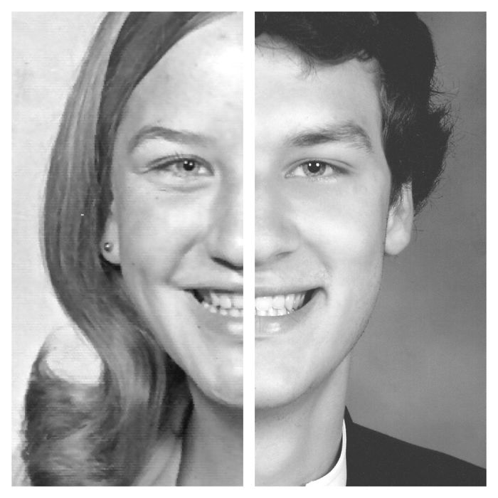 My Son And I Both In High School 40 Years Apart.