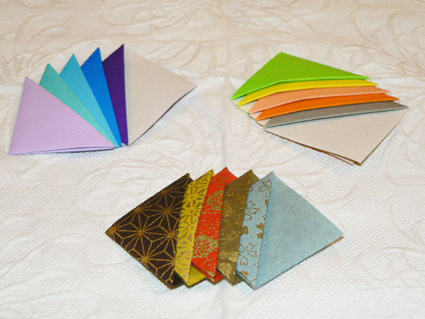 Simple trick to make your own origami bookmarks bored panda How to make a simple bookmark