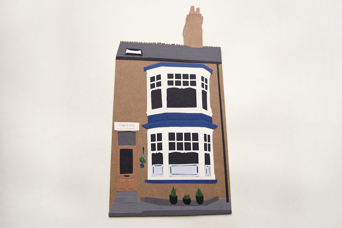 Paper Illustrator Turns Home And Memories Into Paper Art