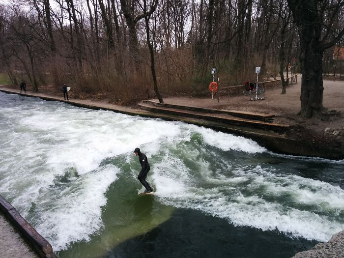 Park Surfing In Munich