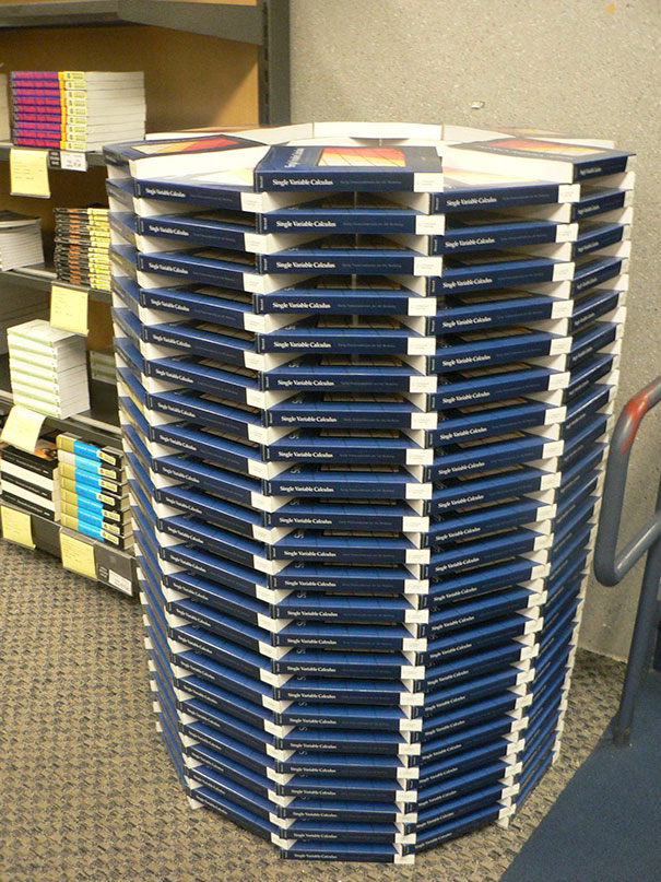 This Column Of Textbooks