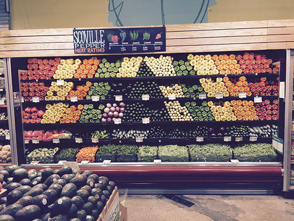 This Whole Foods Display