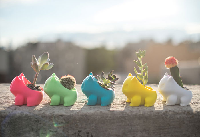 Grow Your Own Pokemon With This 3D-Printed Planter