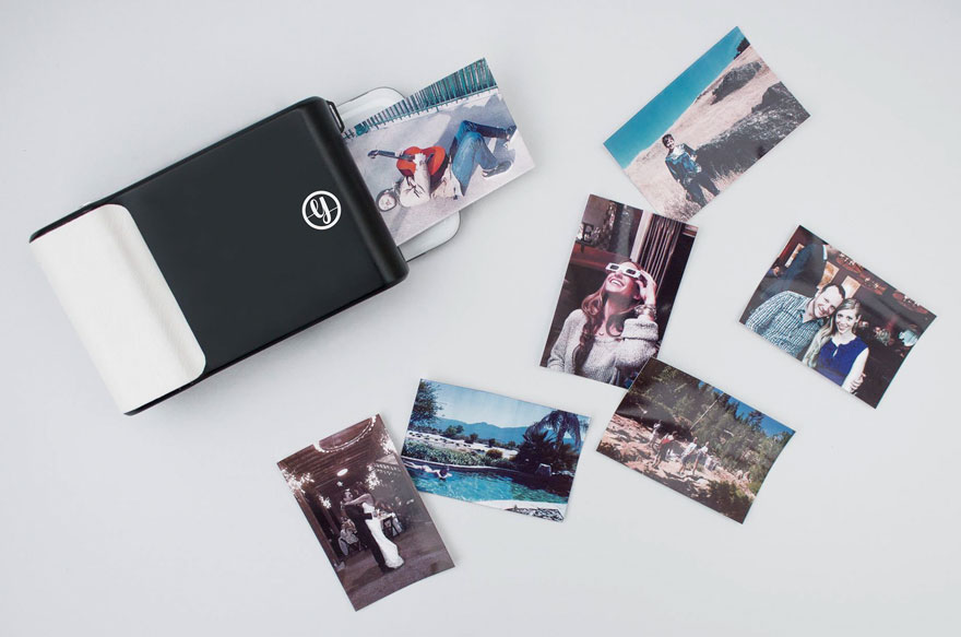 this phone case prints instant pos like a polaroid | bored panda