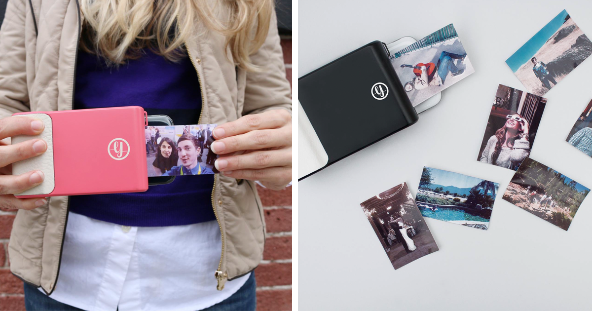 this phone case prints instant photos like a polaroid bored panda