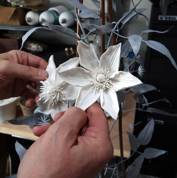 The Ukrainian-Born Man Who Grows Porcelain Flowers