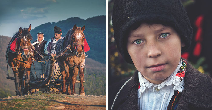 I Took Portraits Of People Living In Remote Romanian Villages