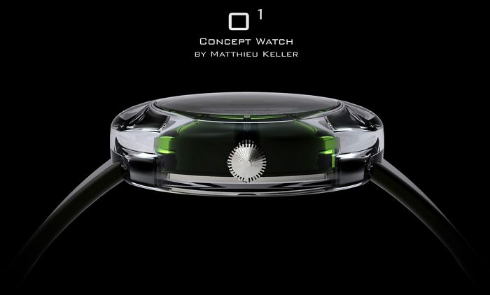 Project O – Concept Watch O1 By Matthieu Keller