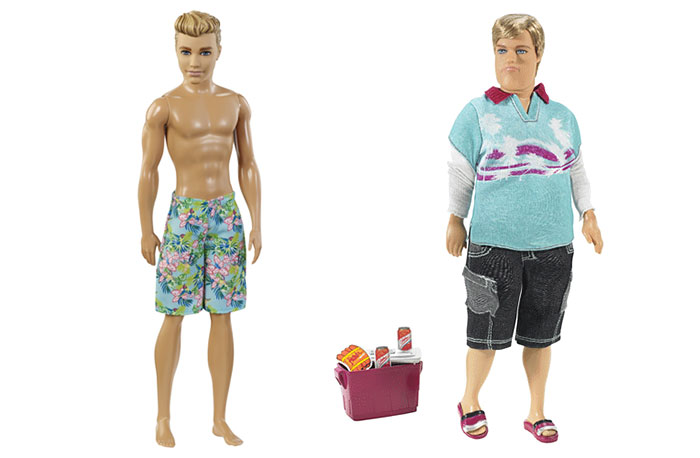 Meet Realistic Barbie's Boyfriend – Dad Bod Ken