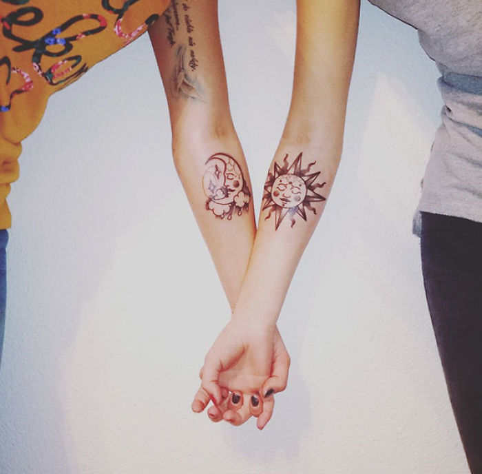 Sister Tattoo Ideas