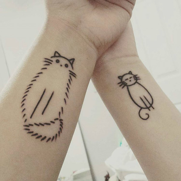 10 Sister Tattoo Ideas To Show Your Bond Bored Panda