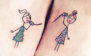 25+ Sister Tattoo Ideas To Show Your Bond