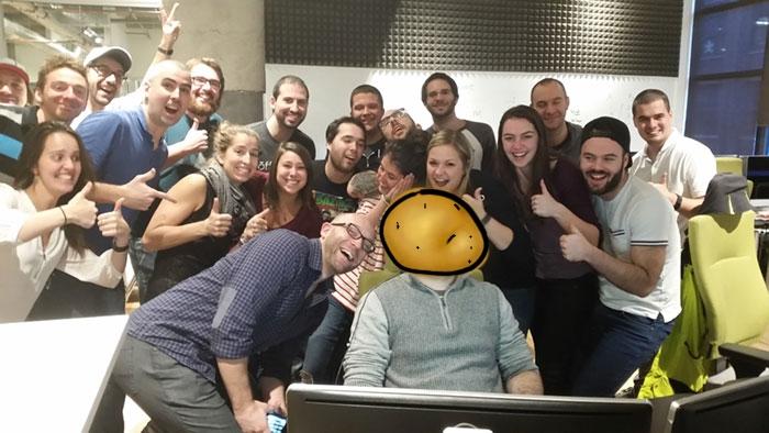 If Sleeping Guy Was A Potato