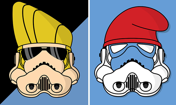 Stormdupers: We Mixed Stormtroopers With Pop Culture Icons