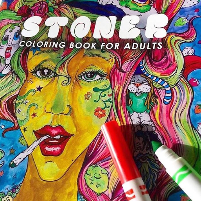 Stoner Coloring Book For Adults! Must See!