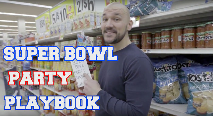 Super Bowl Party Playbook | (a Musical Shopping List)