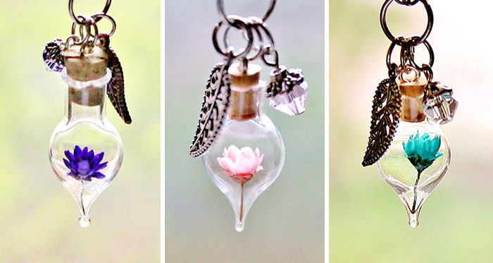 Terrarium Necklaces That Let You Carry A Tiny Piece Of Nature With You