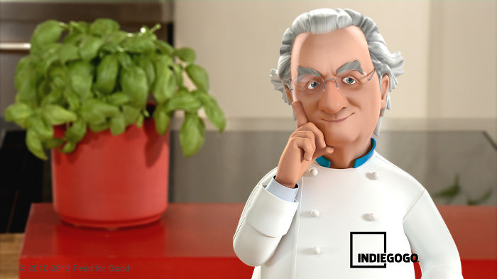 The Avatar Of A Great Italian Chef