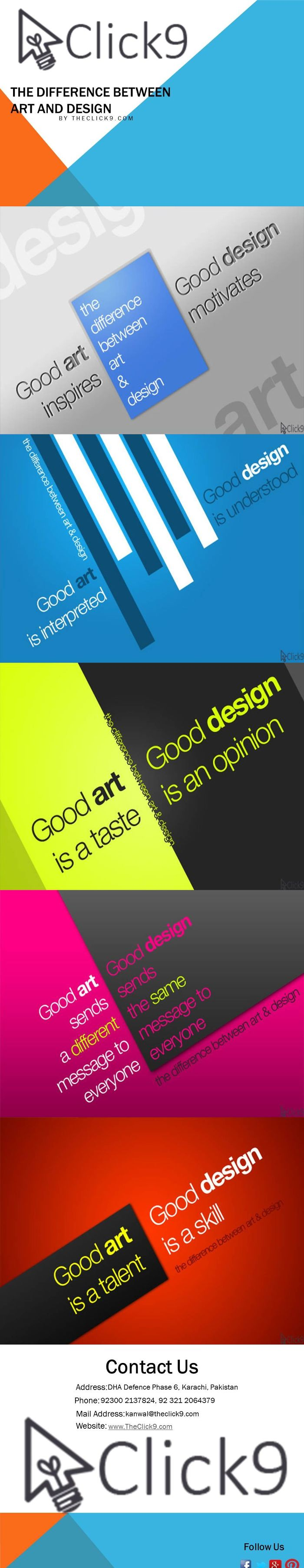The Difference Between Art And Design.