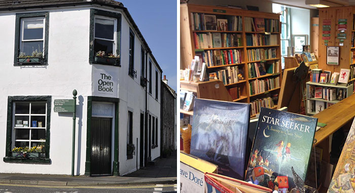 Travellers Staying At This Place In Scotland Take Turns Running The Bookshop Downstairs