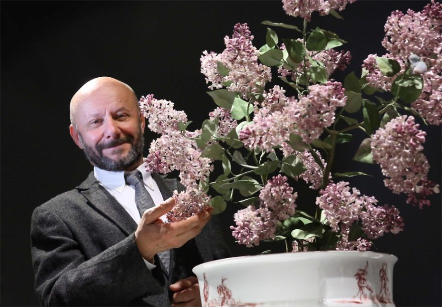 The Ukrainian Born Man Who Grows Porcelain Flowers Bored