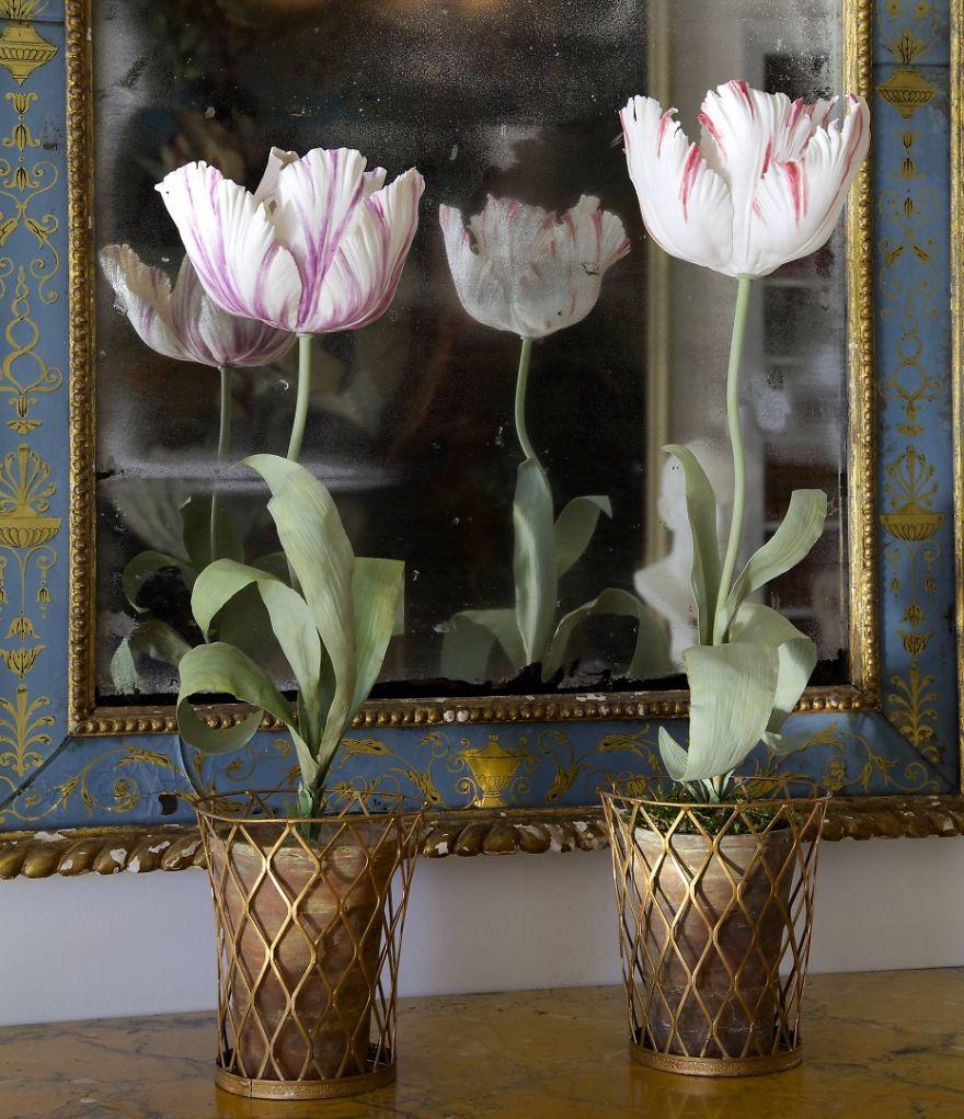 The Ukrainian-Born Man Who Grows Porcelain Flowers