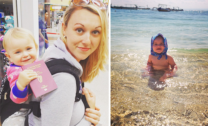 1-Year-Old Has Been Travelling Around The World Since She Was Born