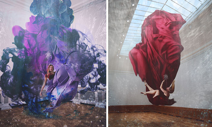 I Create Underwater Self-Portraits In An Empty Art Museum