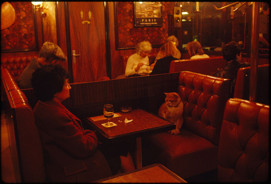 "A Regular At Le Louis Ix In Paris, ""caramel"" Keeps A Client Company, May 1988"