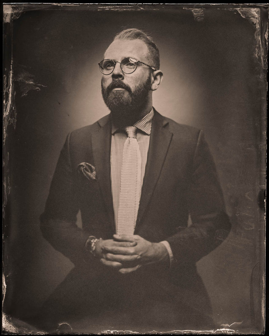 We Used An Insane Amount Of Flash Power And A Victorian Age Photo Process To Create These Portraits
