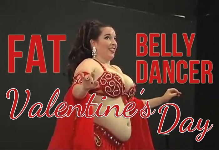 Valentine's Day Belly Dancer