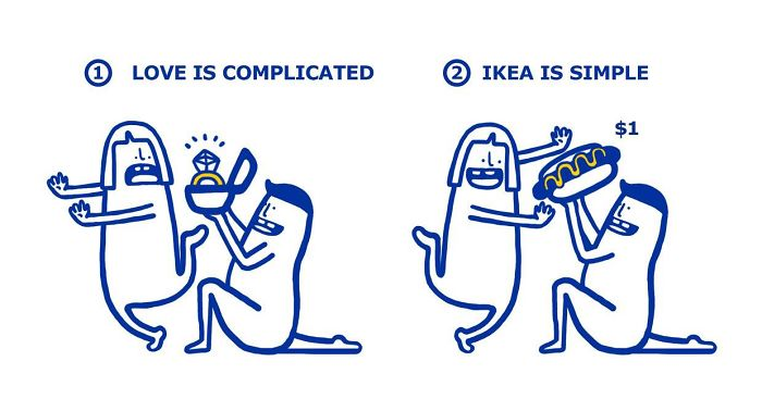 Ikea Shows How Easy It Is To Fix Your Love Problems Bored Panda