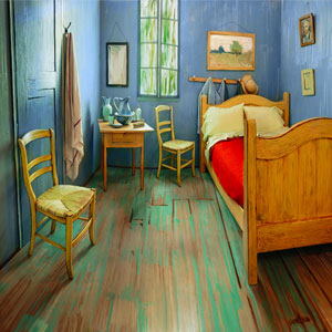 Artists Recreate Van Gogh's Iconic Bedroom And Put It For Rent On Airbnb