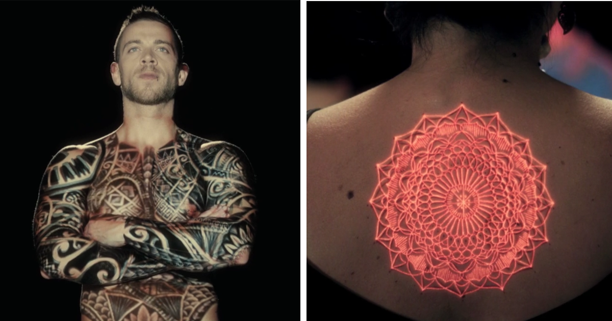 Ink Mapping Brings Tattoos To Life Right On Human Skin ...